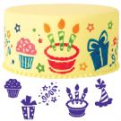 6PC PARTY STAMP SET